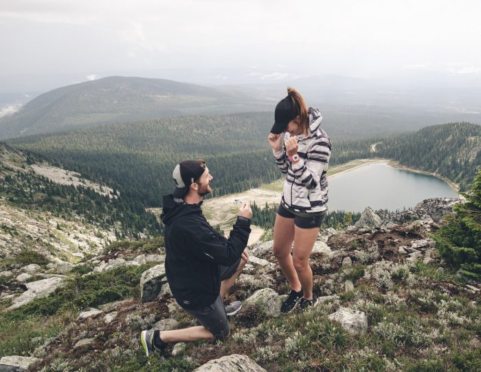 Danielle's Proposal in Kelowna BC