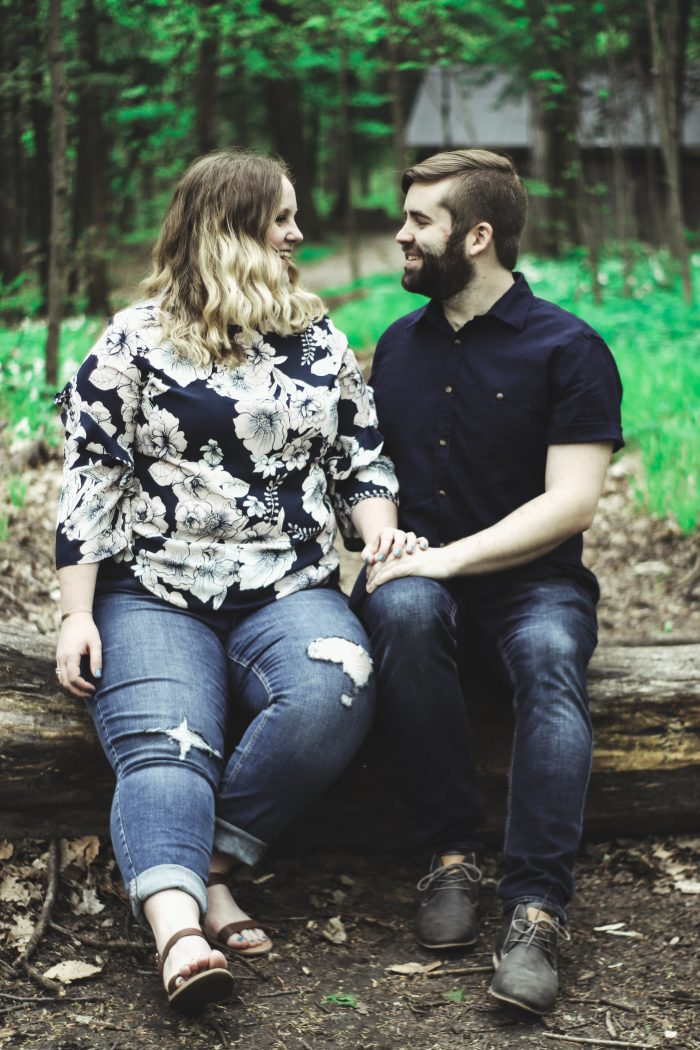 Marriage Proposal Ideas in Sheppard's Bush Forest