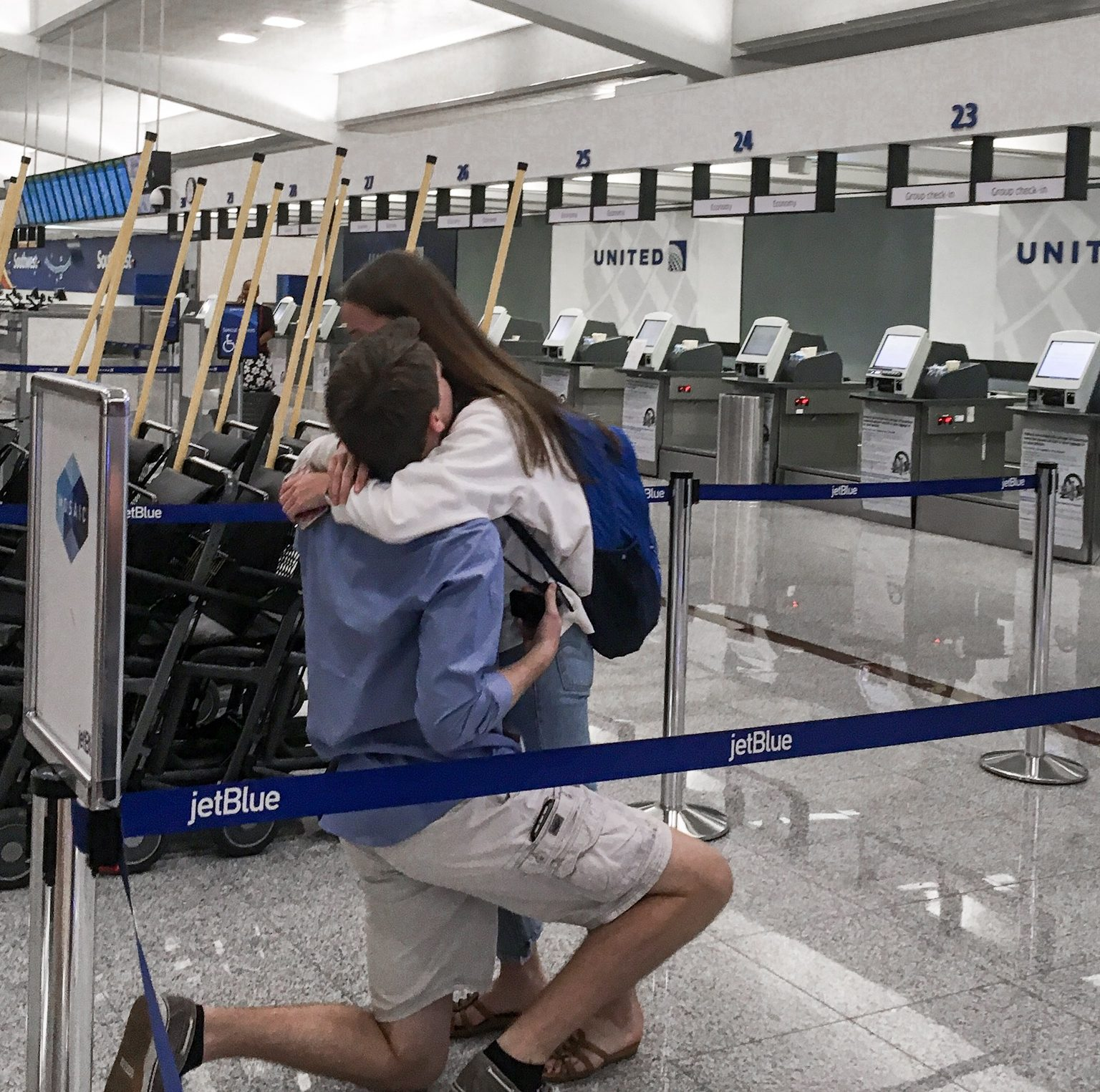 Wedding Proposal Ideas in Airport