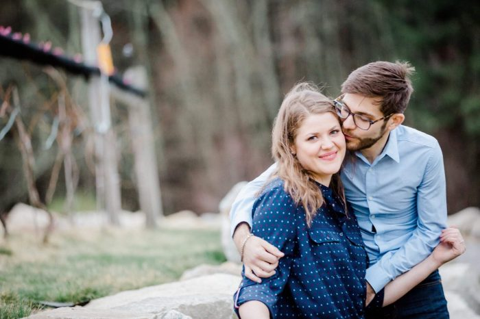 Liz and Raffa's Engagement in Enfield, Maine (my hometown)