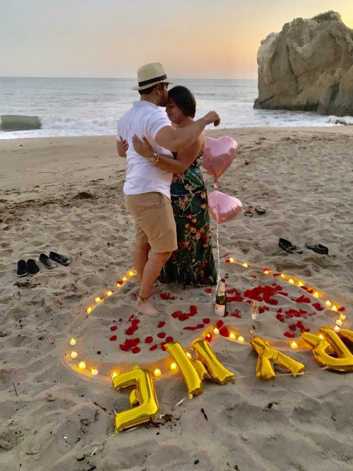 Proposal Ideas El Matador Beach, Malibu, California