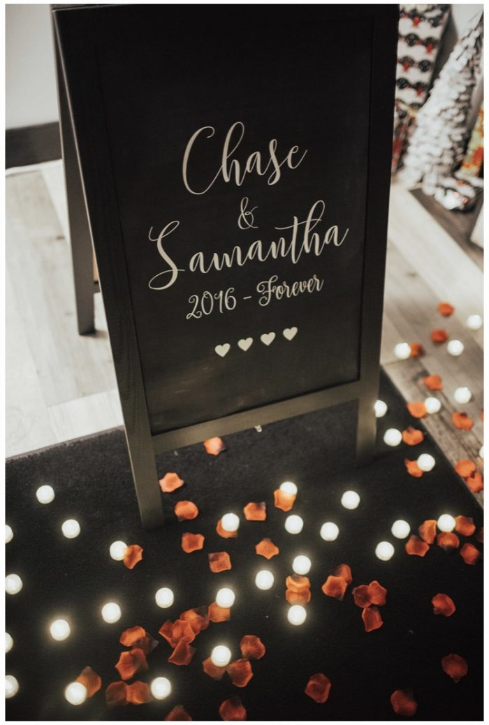 Samantha's Proposal in CW MOORE Penthouse Boise ID