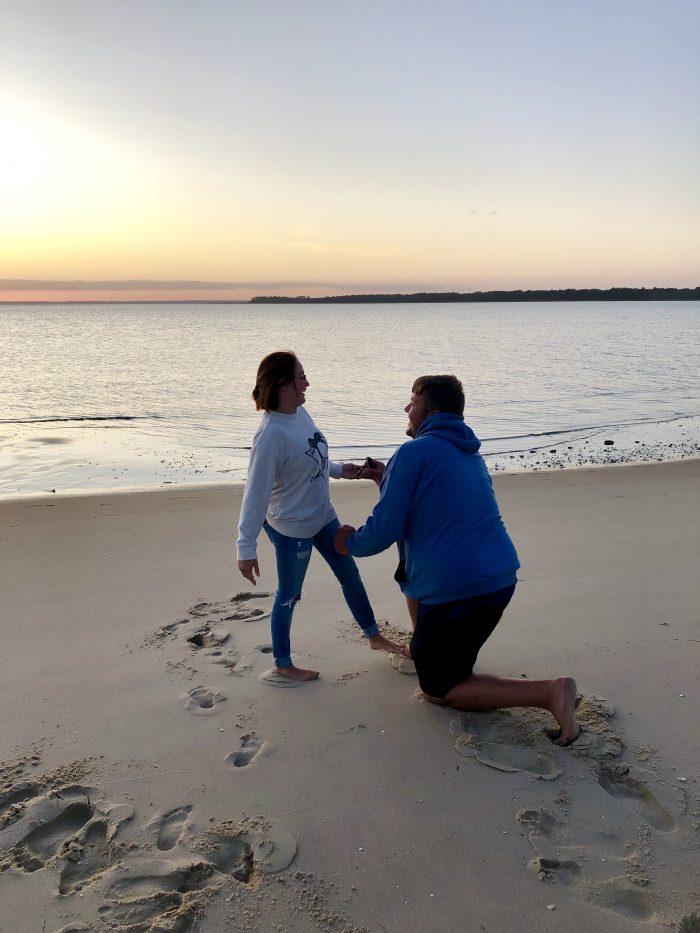 Engagement Proposal Ideas in Chincoteague island VA