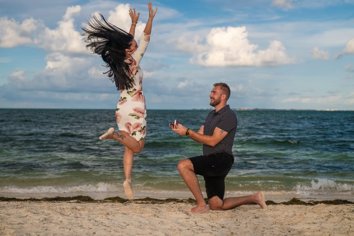 Ivana and Vedran's Engagement in Cancun, Mexico