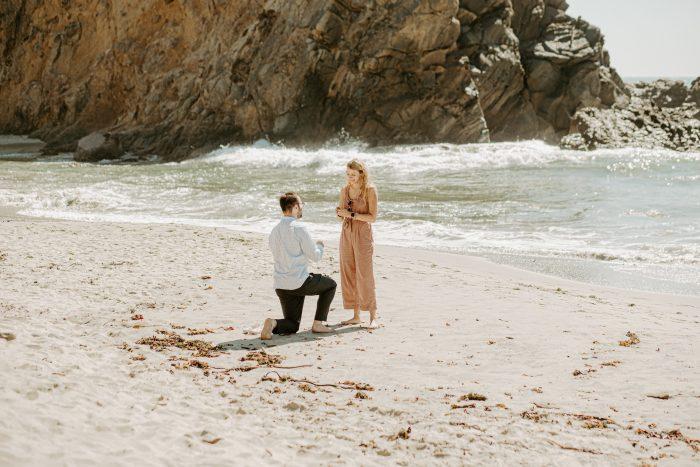 Where to Propose in Pfeiffer Beach, Big Sur, CA