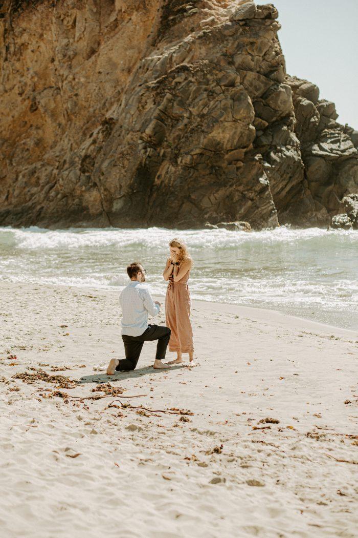 Marriage Proposal Ideas in Pfeiffer Beach, Big Sur, CA