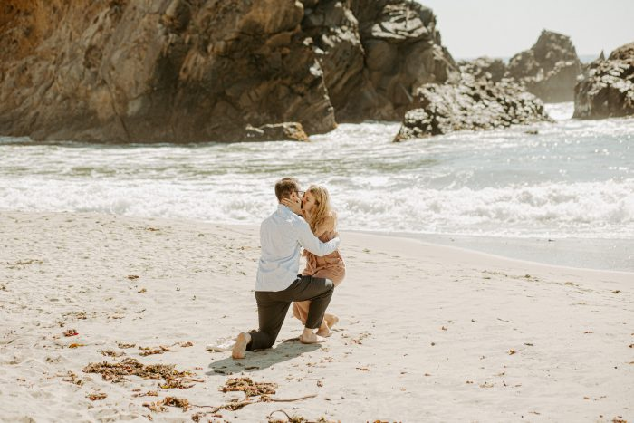 Anthony's Proposal in Pfeiffer Beach, Big Sur, CA