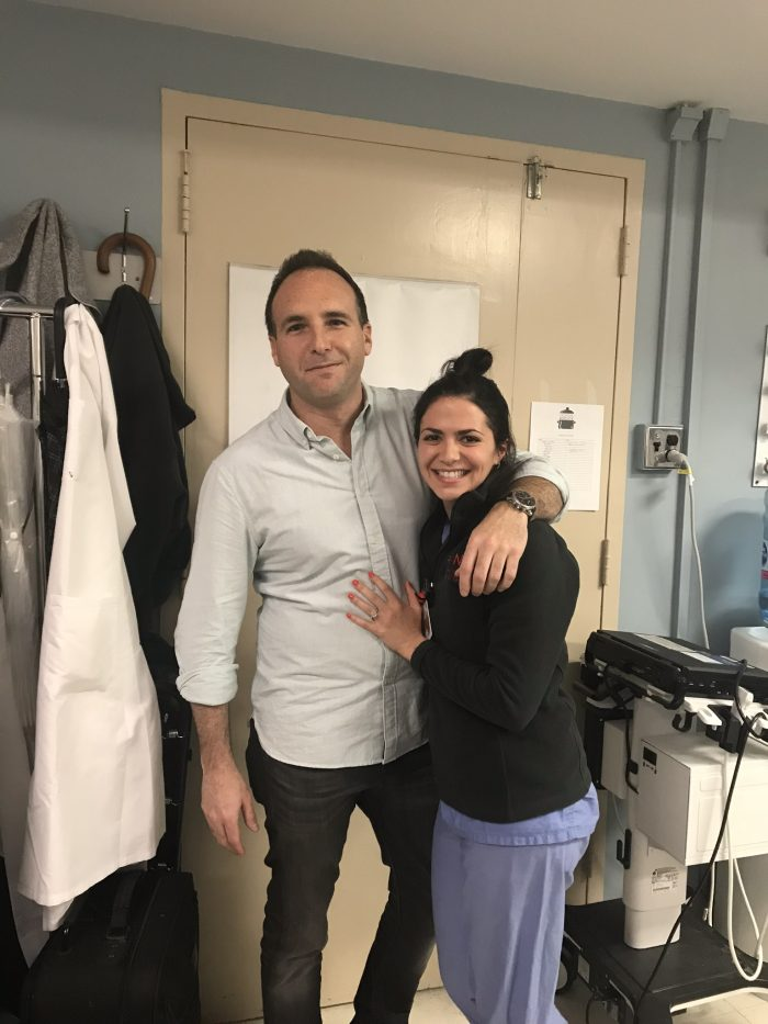 Rebeka's Proposal in New York Presbyterian Hospital