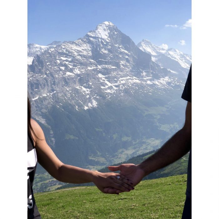 Palak's Proposal in Grindelwald, Switzerland