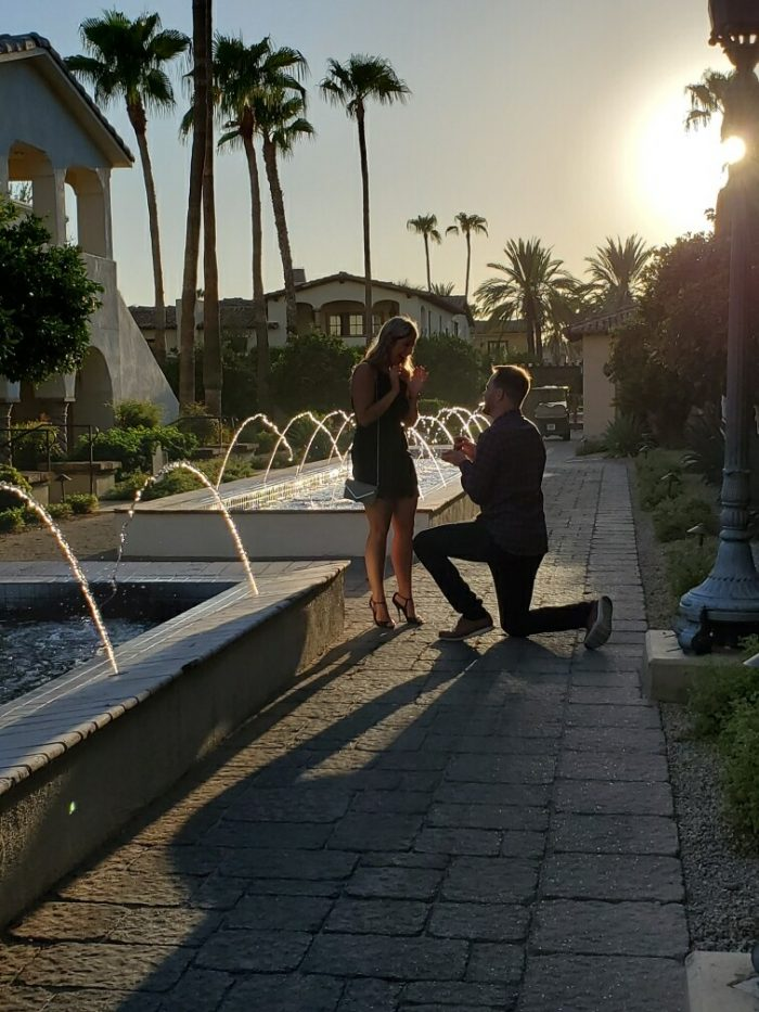 Where to Propose in Omni Scottsdale Resort