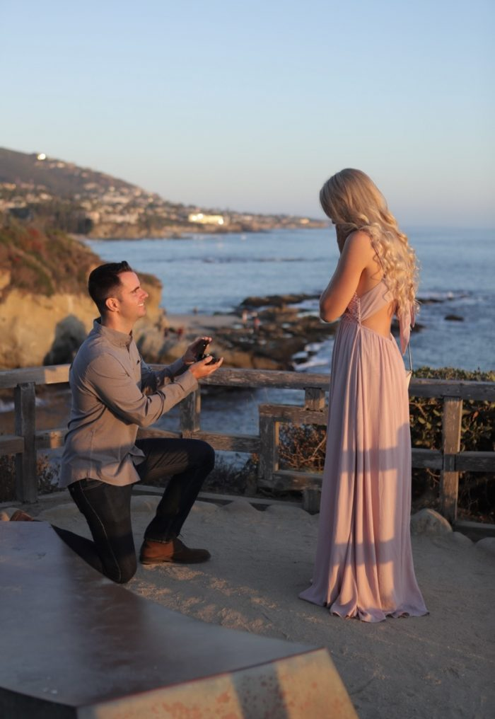 Engagement Proposal Ideas in Laguna Beach