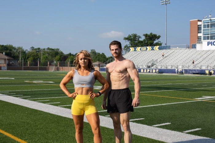 Where to Propose in Grandville, Michigan at a NPC Bodybuilding competition