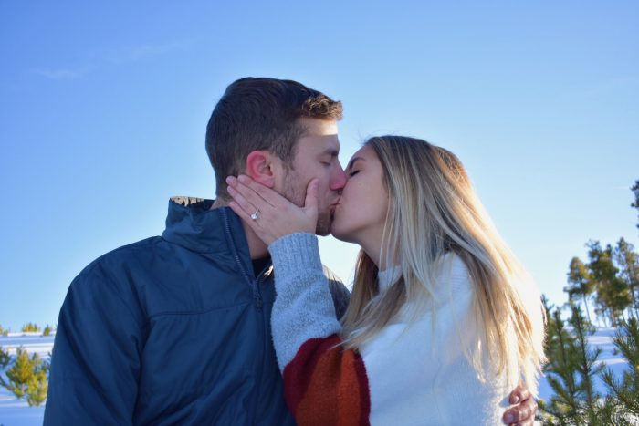 Regan and Luke's Engagement in Keystone, Colorado