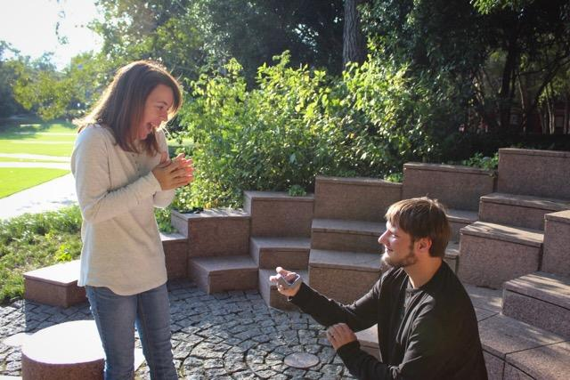 Marriage Proposal Ideas in NC STATE University