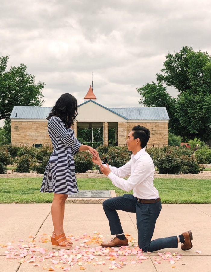 Gabriela and Mike's Engagement in Amarillo, Texas