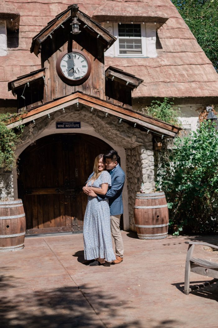 Ida and Jonathan's Engagement in Briar Rose Winery in Temecula