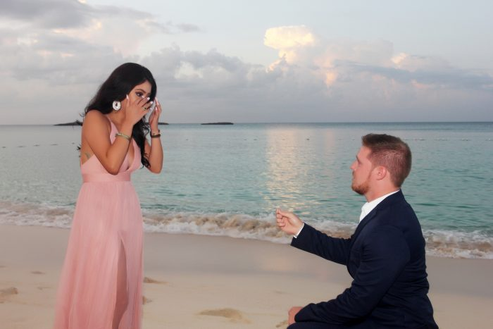 Elizabeth's Proposal in Nassau, Bahamas