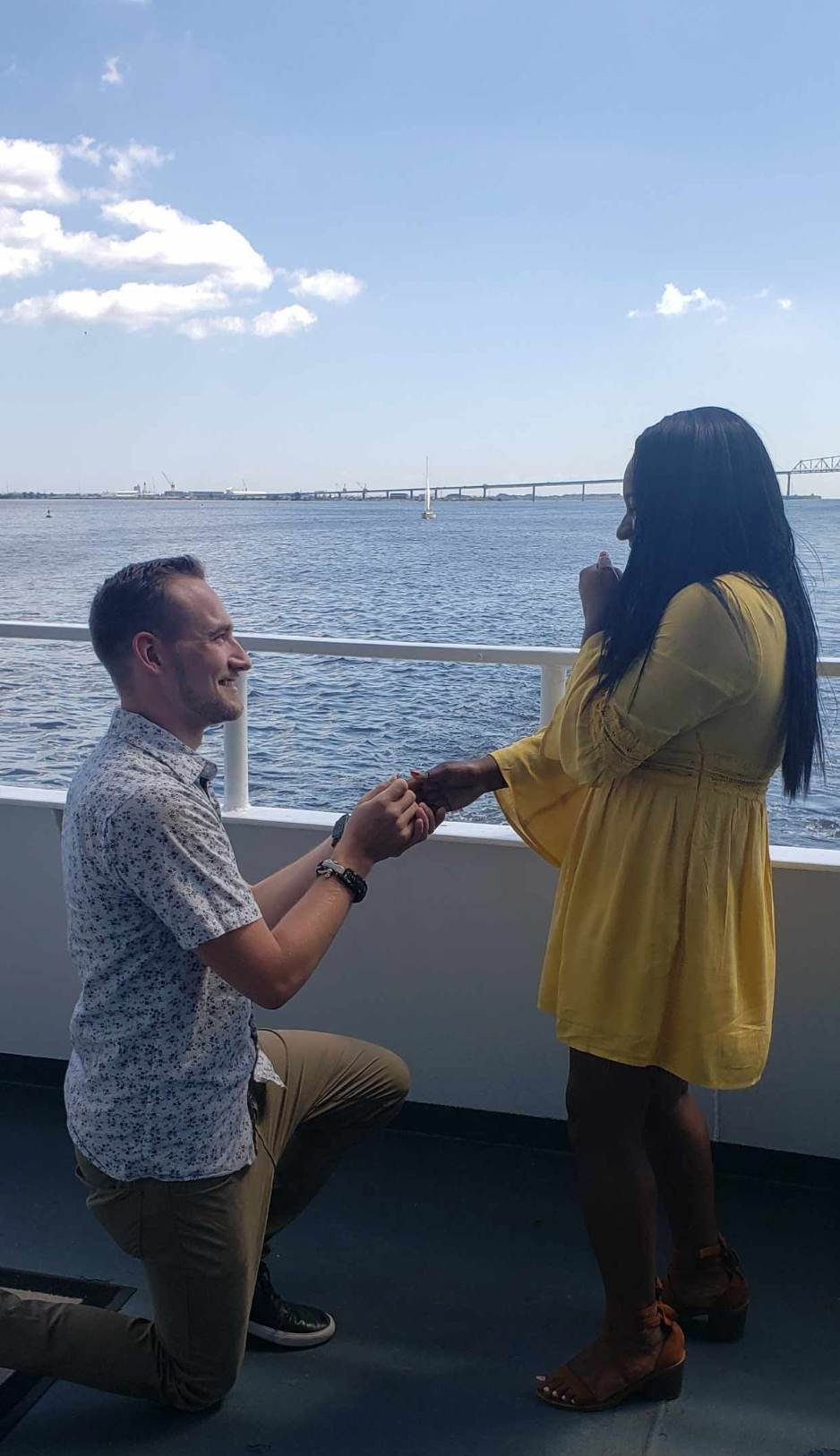 Engagement Proposal Ideas in Dinner Cruise