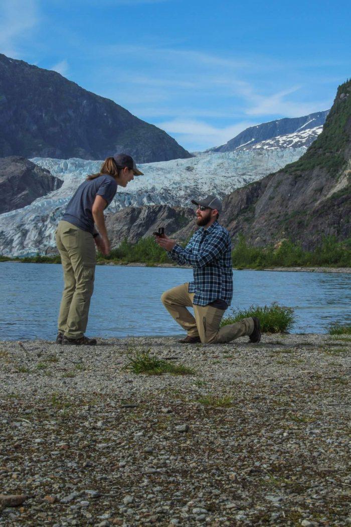 Alexis's Proposal in Juneau, Alaska