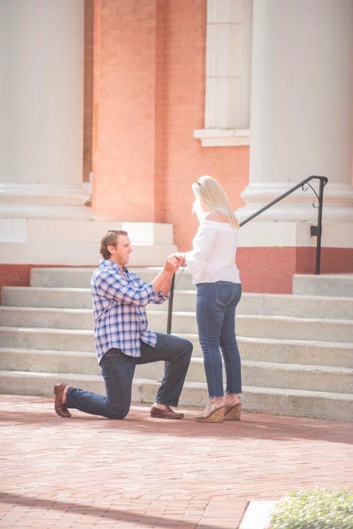 Marriage Proposal Ideas in Stetson University - DeLand, Florida