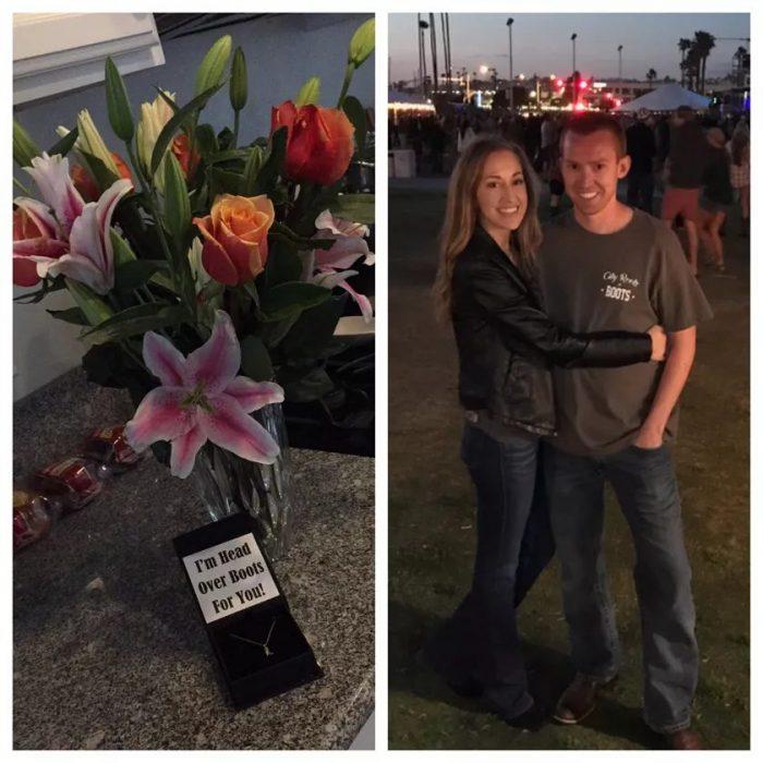 Stephanie's Proposal in Dodger Stadium- Luke Bryan's