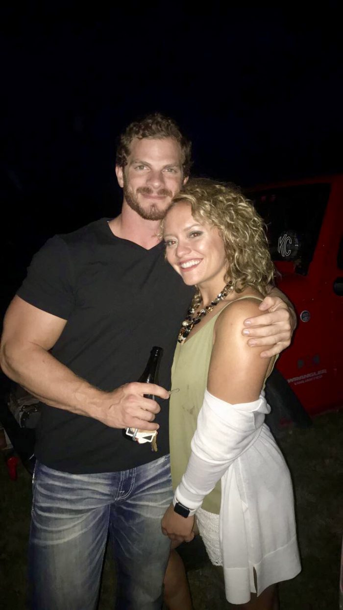 Danielle and Christopher's Engagement in Grandville, Michigan at a NPC Bodybuilding competition