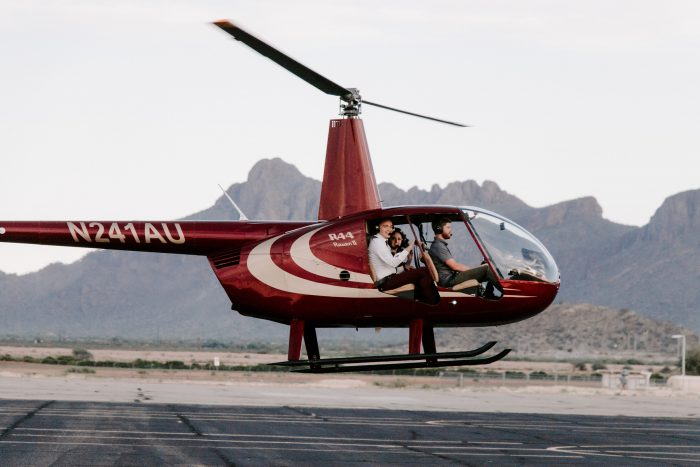 Where to Propose in Volare Helicopters