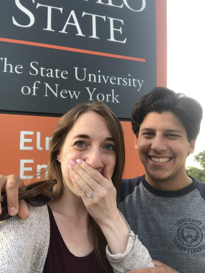 Veronica and Jack's Engagement in Buffalo State College