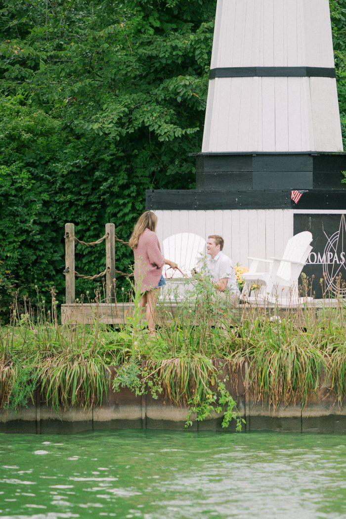 Jordan's Proposal in Buckeye Lake, OH