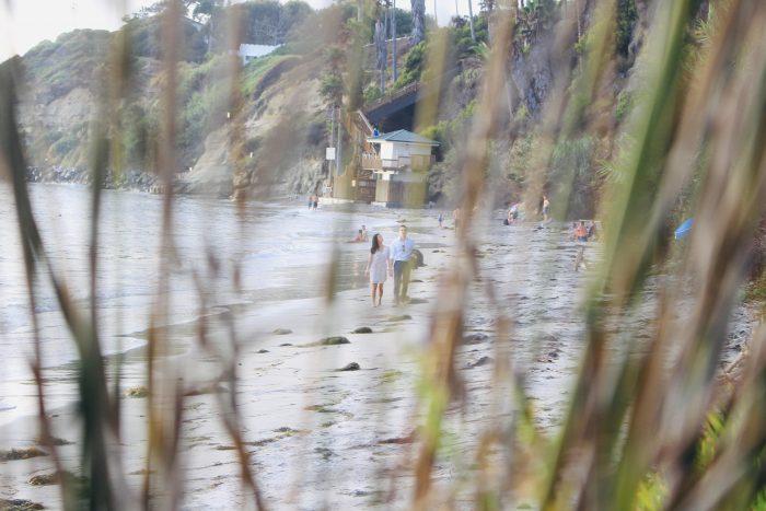 Engagement Proposal Ideas in Swami's Beach in beautiful Encinitas, CA