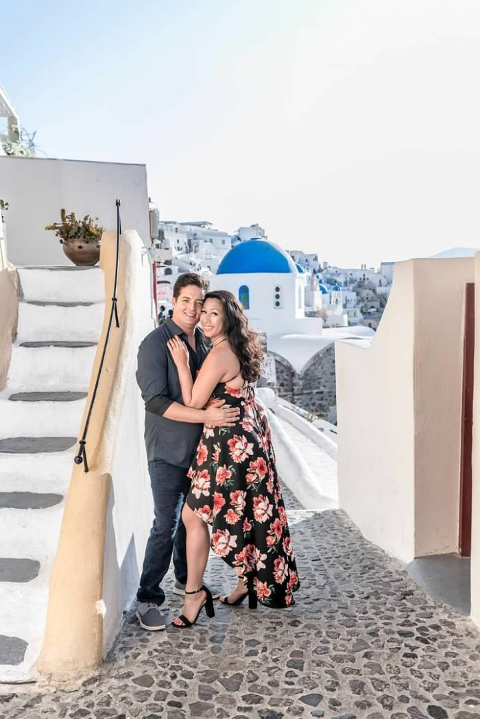 Engagement Proposal Ideas in Santorini, Greece