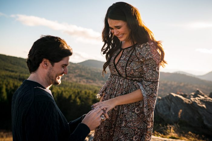 Engagement Proposal Ideas in Black Balsam Knob - Blue Ridge Parkway, NC