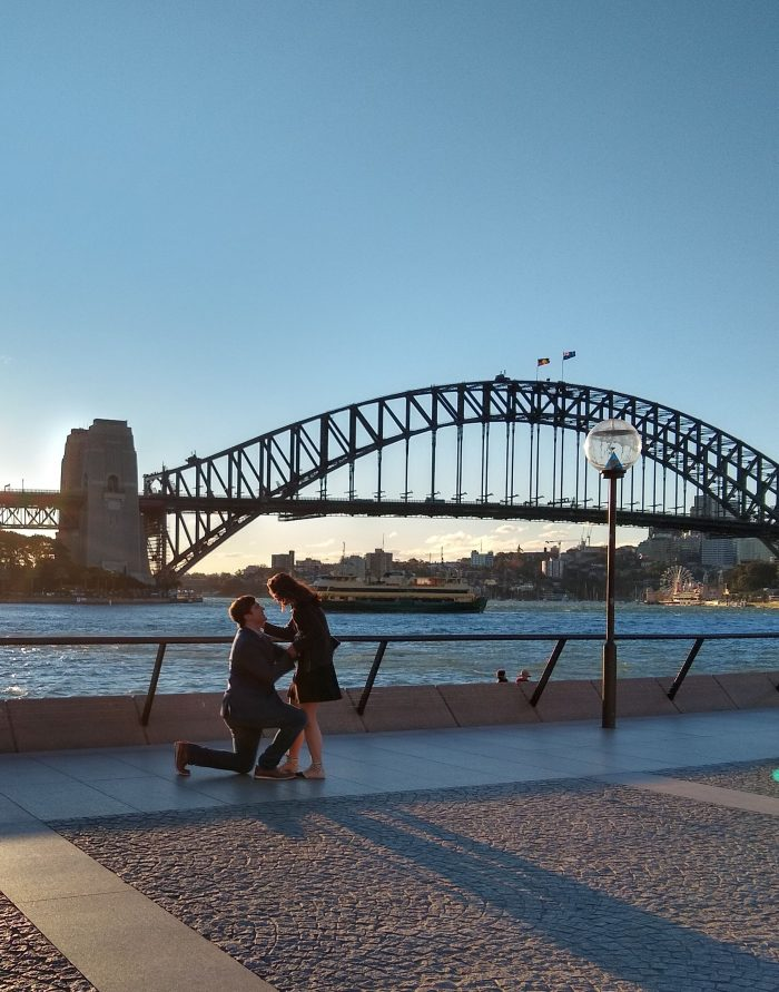 Alex's Proposal in Sydney, Australia