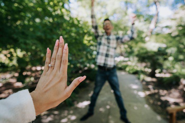 Marriage Proposal Ideas in Garden