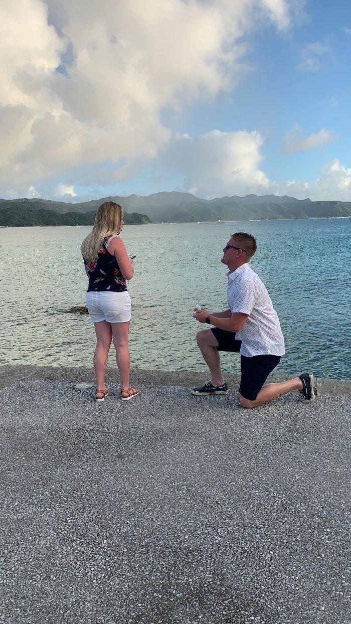 Wedding Proposal Ideas in Okinawa, Japan