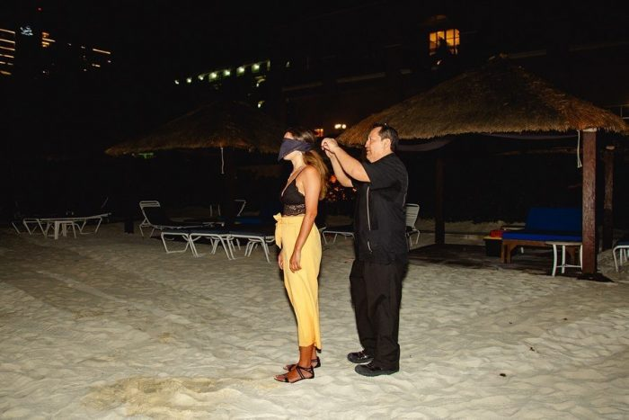 Marriage Proposal Ideas in Mexico cancun ritz carlton