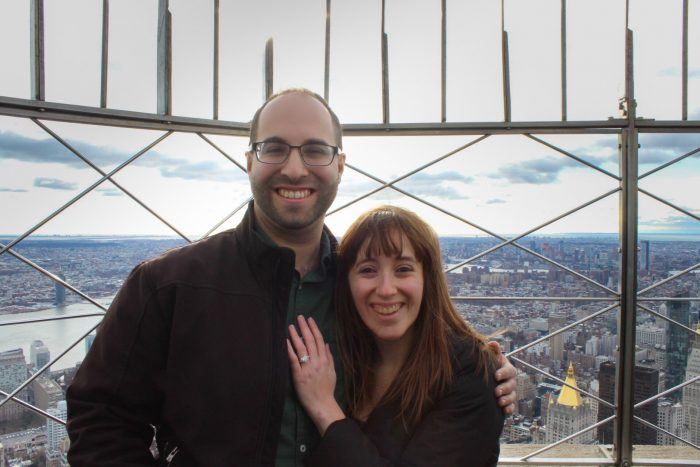 Danielle's Proposal in Empire State Building