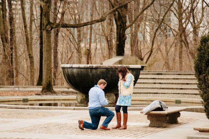 Engagement Proposal Ideas in Roosevelt Island - Washington, DC
