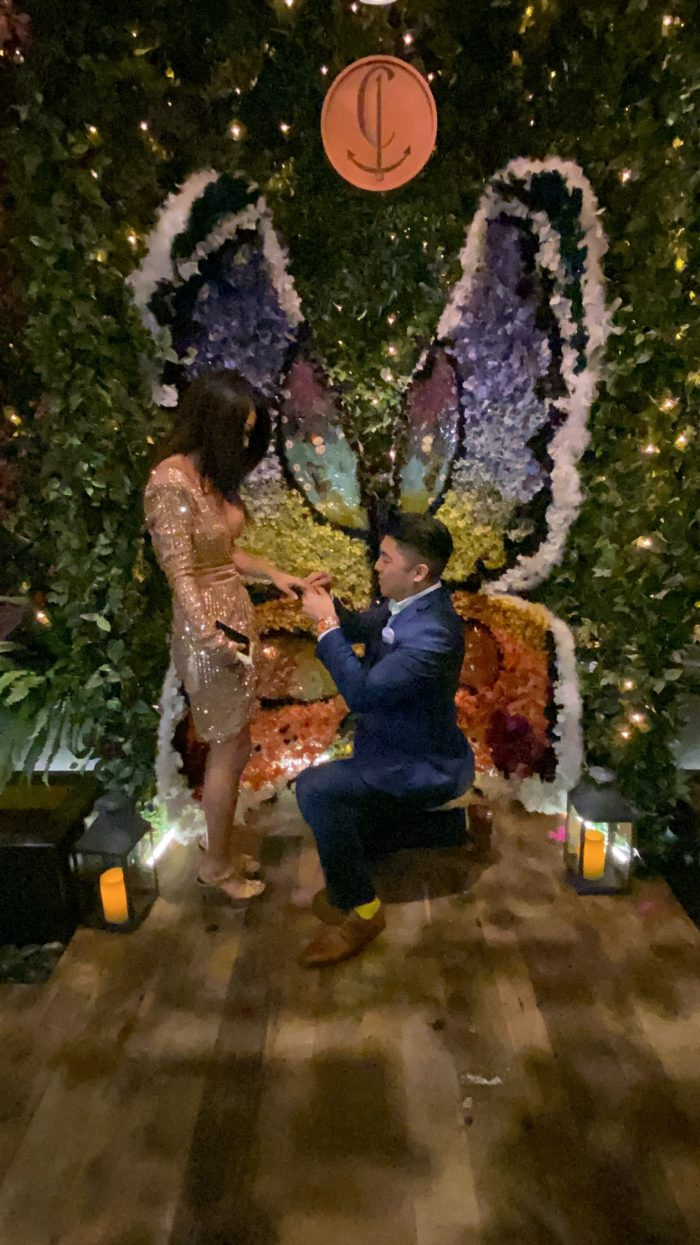 Teena's Proposal in Las Vegas