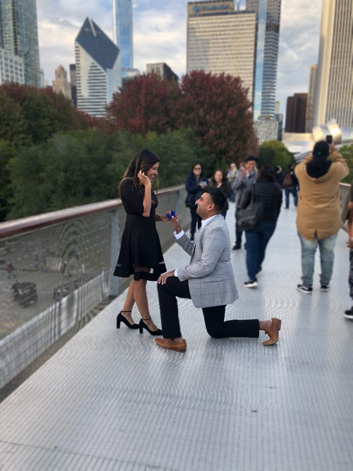 Wedding Proposal Ideas in Chicago, IL