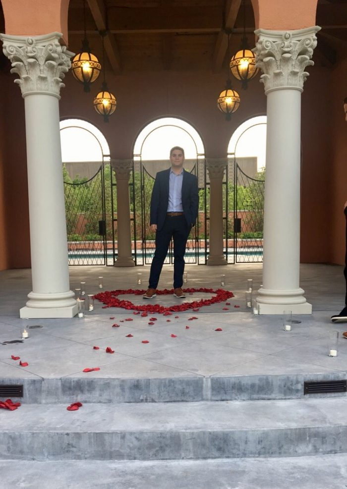 Wedding Proposal Ideas in Rosewood Mansion in Dallas