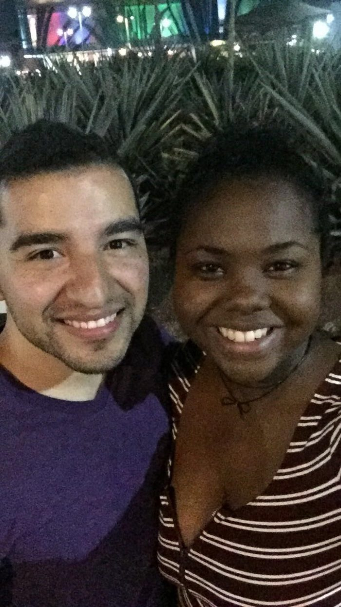 Ashlye and Roberto's Engagement in Philadelphia Theater Company