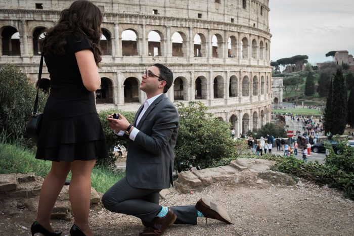 Erica's Proposal in Rome, Italy