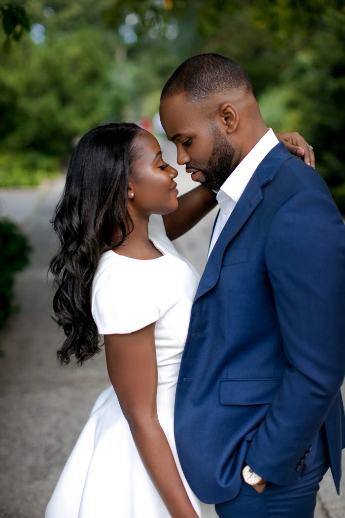 D'Meca and Anthony's Engagement in Dallas, Texas