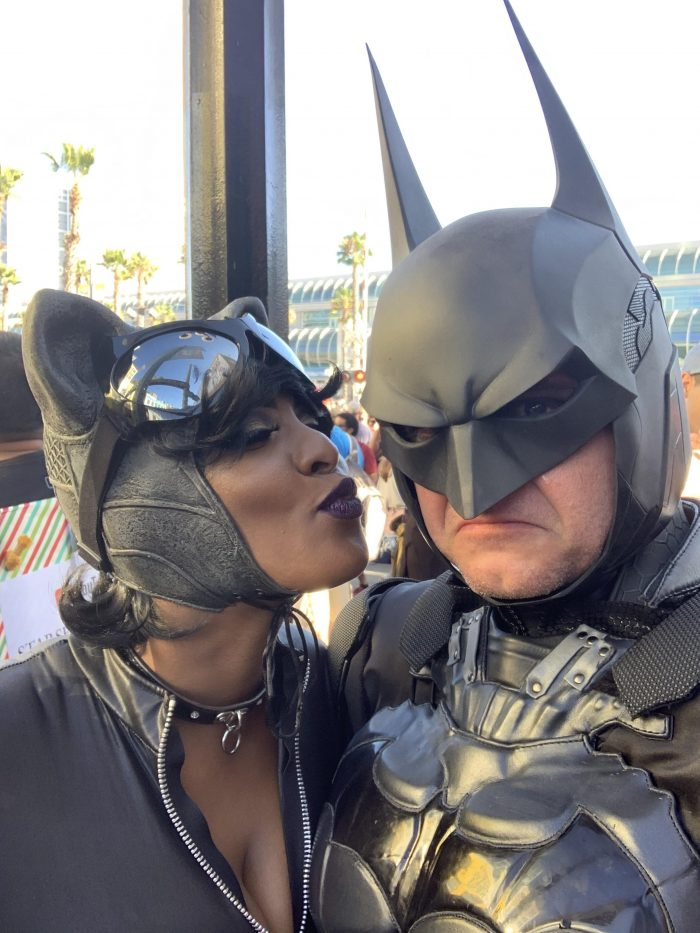 Amber and Joe's Engagement in Los Angeles Comic Con