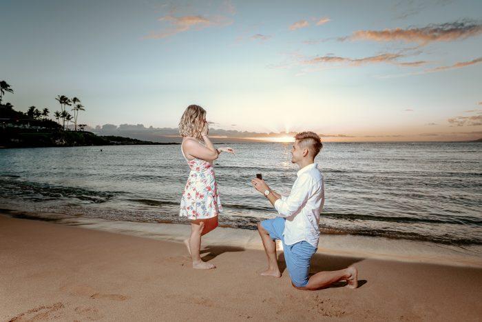Kaya's Proposal in Maui Hawaii