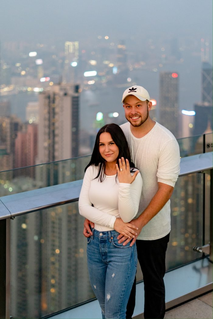 Where to Propose in Victoria Peak Hong Kong