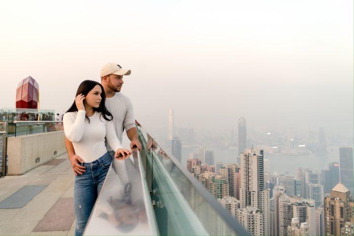 Yana's Proposal in Victoria Peak Hong Kong