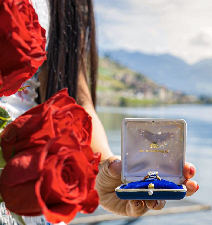 Where to Propose in On the edge of the famous Lake Léman in Switzerland ??