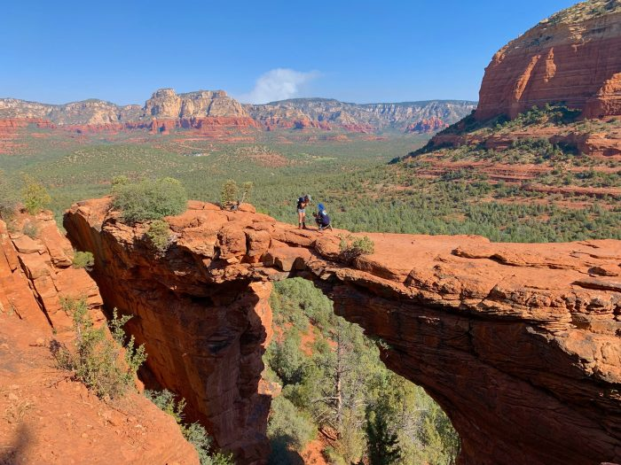 Allie's Proposal in Devils Bridge in Sedona, Arizona